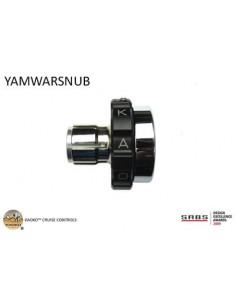 KAOKO stabilizzatore manubrio con cruise control - YAMAHA Warrior Cruiser '08-, XVS650 '97