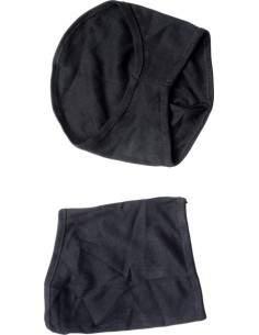 Scaldacollo in cotone nero