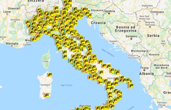 mappa-rivenditori-forbikes